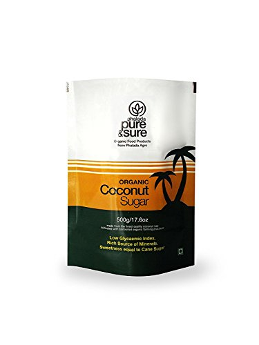 Pure & Sure Organic Coconut Sugar, 500g (B074Q35VCD) Amazon Price History, Amazon Price Tracker