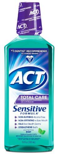 ACT Anticavity Fluoride Mouthwash Sensitive