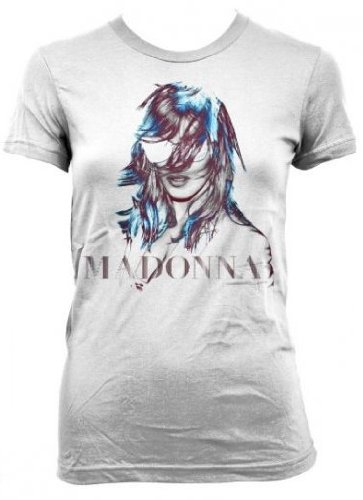 Madonna MDNA Juniors White T-Shirt