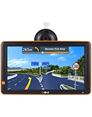 """Truck GPS Xgody GPS Navigation 9"""" Inch Big Screen for Truck Drivers Navigation Bluetooth AV-in Lifetime North America Maps (USA + Canada) 3D & 2D Maps, 8GB, Turn by Turn Directions"""