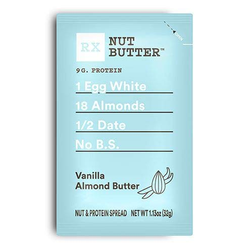 RXBAR Vanilla Almond Nut Butter - Box of 10 - RX Bar ()