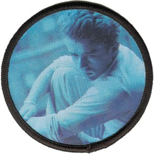 james dean iron on patch - 1