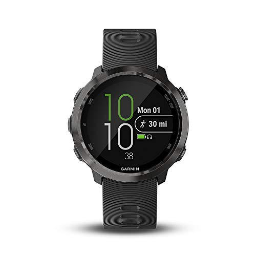 Garmin 010-01863-22 Forerunner 645 Music, GPS Running Watch with Pay Contactless Payments, Wrist-Based Heart Rate and Music, 1.2 inches, Slate (Renewed)