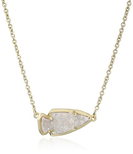 Kendra Scott Kasey Gold Iridescent Drusy Pendant Necklace, 15'' + 2'' Extender by Kendra Scott