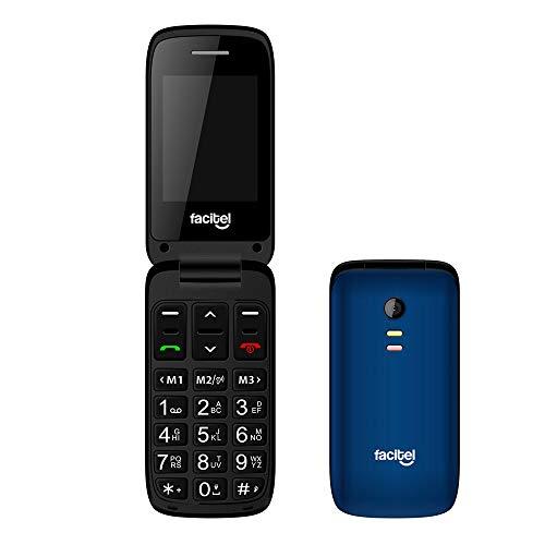 🥇 Facitel FS23 – Telefonos moviles Libres de facil Uso con Tapa