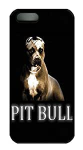 iPhone 5S Cases & Covers Pit Bull HAC1014399 Custom PC Hard Case Cover for iPhone 5/5S Black
