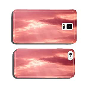 Pink color cloudscape cell phone cover case iPhone6 Plus