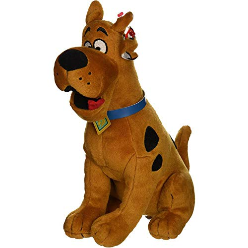 (RUAMY 15cm Scooby-Doo The Dog Plush Regular Stuffed Animal Collection Soft Doll Toy with Heart Tag)