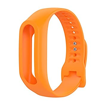 Inteligente Deporte pulsera repuesto, silicona Jelly Unisex Wrist Band correa bolsa soporte cromado con cierre