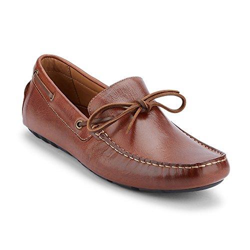 G.H. Bass & Co. Men's Wyatt Slip-On Loafer, Dark Tan, 10 M ()