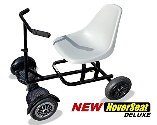 HoverSeat Deluxe – Seating Attachment for Hoverboard Self Balancing Scooter. Now Comes with Handle bar and Molded seat.