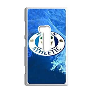 Football League Championship Team Wigan Athletic FC Logo Background Case Cover for Nokia Lumia 920- Personalized Hard Cell Phone Back Protective Case Shell-Perfect as gift