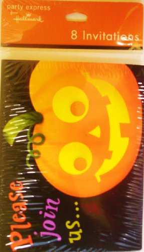 Boo It Up Big Invitations with Envelopes 8ct Hallaween