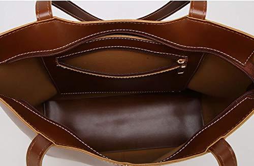bandolera y de Carteras Burdeos clutches Mujer y Bolsos de Shoppers hombro DEERWORD mano bolsos 0TqBnw
