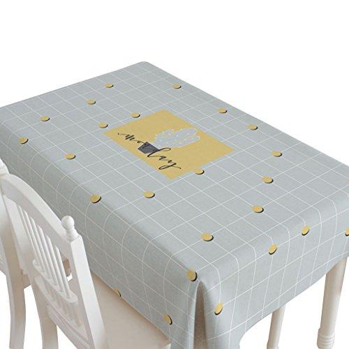 B 110170CM Nappe Rectangle, Tissu Art Coton Et Lin Nappe Créative Salon Géométrie Motif Table voiturerée Table Basse Couverture Serviette 140-220 CM (Couleur   B, taille   110  170CM)