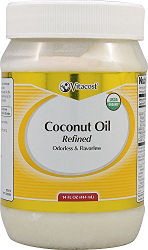 Vitacost Organic Coconut Odorless Flavorless product image