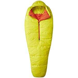 Mountain Hardwear HyperLamina Spark 35 Sleeping Bag - Ginkgo Left Hand Regular