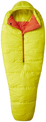 Mountain Hardwear Unisex HyperLamina Spark 35 Long Sleeping Bag, Ginkgo, LH - Ginkgo 20 Bags