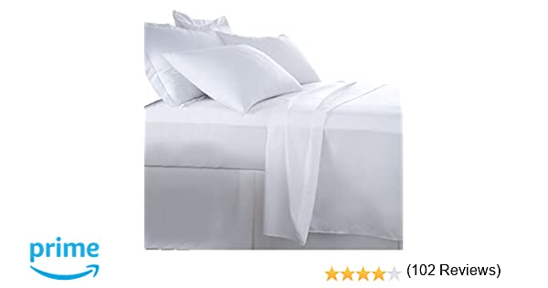 Burrito Blanco Juego de Sábanas Blanco de Hostelería para Cama Individual de 120 cm x 190/200 cm (Disponible en Más Medidas): Amazon.es: Hogar