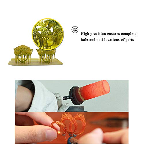 IFUN Jewelry Casting Resin for LCD 3D Printer Lost Wax Casting UV-Curing  Resin 405nm Photosensitive Liquid Deep Green 500ml