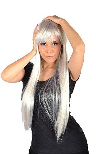 My Costume Wigs Women's Nicki Minaj White Wig(White) One Size Fits All