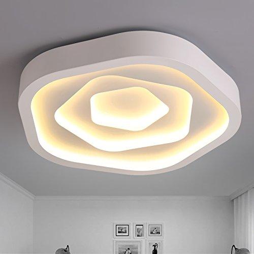 BLYC- Moderne minimalistische Schlafzimmer Lampe kreative LED Decke Lampe Licht Nordic minimalistische Zimmer warm Esszimmer Balkon Lichter Durchmesser 520 / 630mm , 630mm