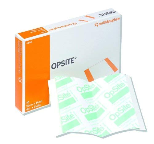 Opsite Transparent Adhesive Dressing 5.5 x 4