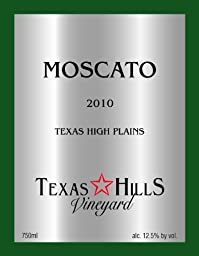 2010 Texas Hills Vineyard Moscato 750 mL