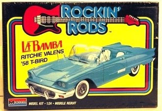 - Monogram Rockin' Rods La Bamba Ritchie Valens 1958 Ford Thunderbird Vintage 1989 1/24 Model Kit