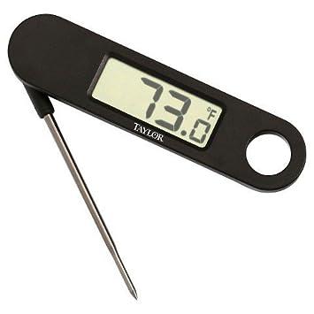 Taylor Digital compacta plegable Sonda termómetro