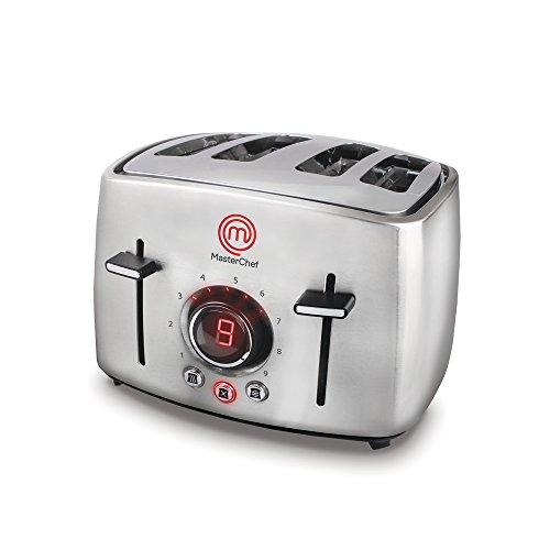 Torradeira 4 Pães Premium 1600W, 220V, MasterChef TO3004I/02, Inox