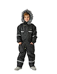 Kids snowsuit Thickened Athletic Jacket Children's Thermal Skiing Sports Coverall