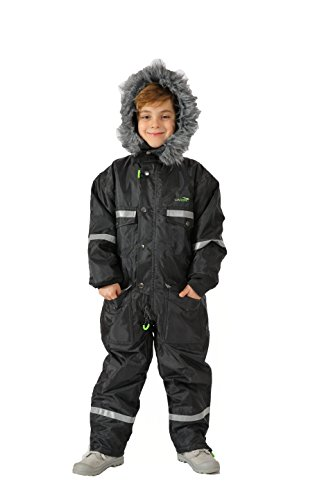 Kids-snowsuit-Thickened-Athletic-Jacket-Childrens-Thermal-Skiing-Sports-Coverall
