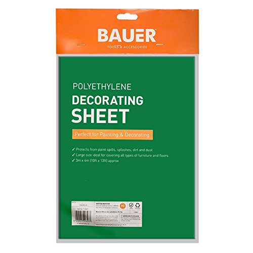 stalwart f20347 protective plastic decorating sheet amazoncouk business industry u0026 science