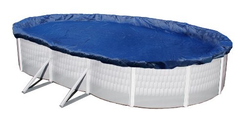 Oval Winter Cover - Blue Wave Gold 15-Year 15-ft x 30-ft Oval Above Ground Pool Winter Cover