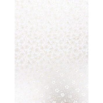 5 Bogen wei/ß, Design 04 DIN A4 Nova Noblesse mit Top-Pr/ägung /& Perlmuttlack Premium-Transparentpapiere