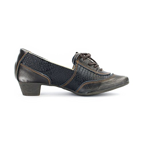 TMA Scarpe 1811 Perlschwarz Donna Shoes Chiuse rrBn41q
