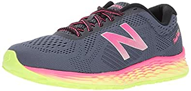 New Balance Women's Fresh Foam Arishi v1 Running-Shoes, Thunder/Alpha Pink, 10 B US