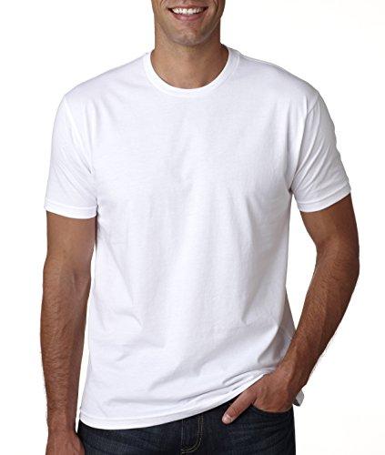 Next Level Mens Premium Fitted Short-Sleeve Crew T-Shirt – DiZiSports Store