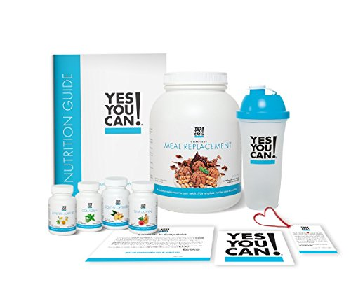 - Yes You Can! Transform Kit: On-The-Go 30 Servings, Once a Day, Contains: One Complete Meal Replacement Chocolate, One Slim Down, One Appetite Support, One Collagen, One Colon Optimizer, One Shaker