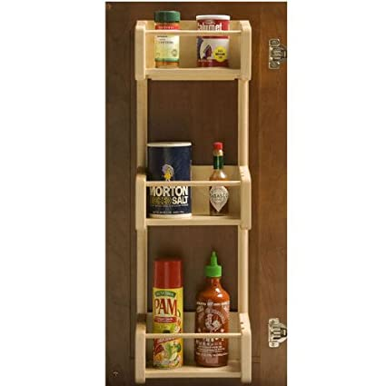 Amazon Omega National Cabinet Door Pantry 3 Storage Tray Rack