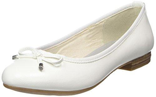 22137 Ballerine Chiusa Marco Punta Bianco Donna Tozzi White 5wgWqv