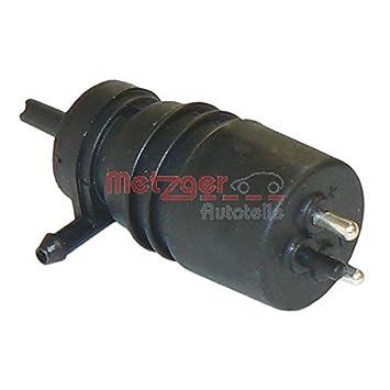 Metzger 2220009 bomba de agua para limpiaparabrisas: Amazon.es: Coche y moto