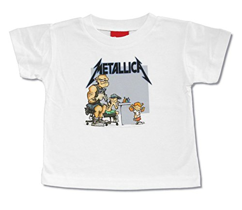 Bravado Metallica Tattoo White Toddler Youth T-Shirt
