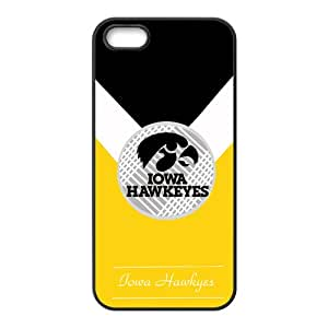 Iowa Hawkeyes NCAA Logo Cell Phone Case for Iphone 5s
