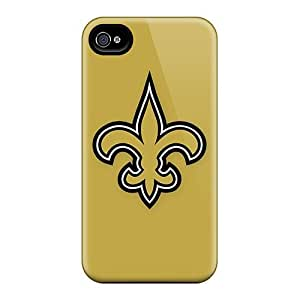 SJr1511yZCO Leeler New Orleans Saints 6 Feeling Iphone 4/4s On Your Style Birthday Gift Cover Case