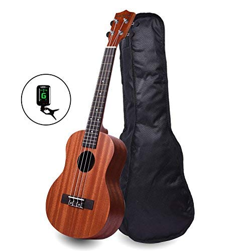 Kadence Wanderer Brown Soprano Ukulele with Bag product image