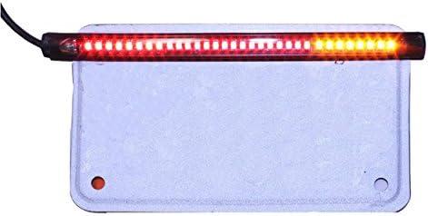 12 V per moto FREESOO 32SMD con indicazione frenata e direzione Luce targa universale impermeabile
