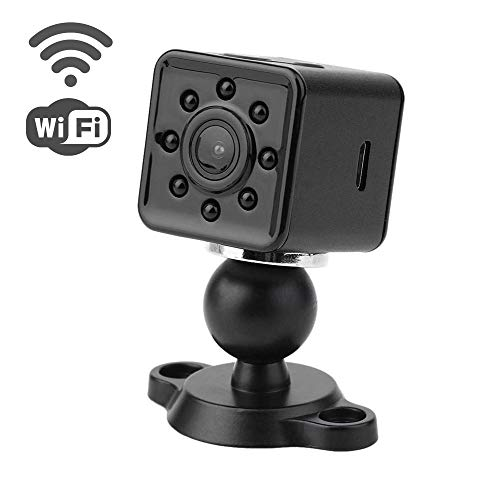 Wireless WiFi Hidden Spy Camera – 1080P Full HD Video and Photo Recording – Mini Night Vision Camera – Waterproof case Included