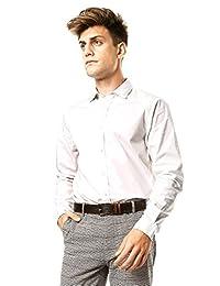 Dockers Long Sleeve Refined Poplin Standard Camisa de Vestir para Hombre